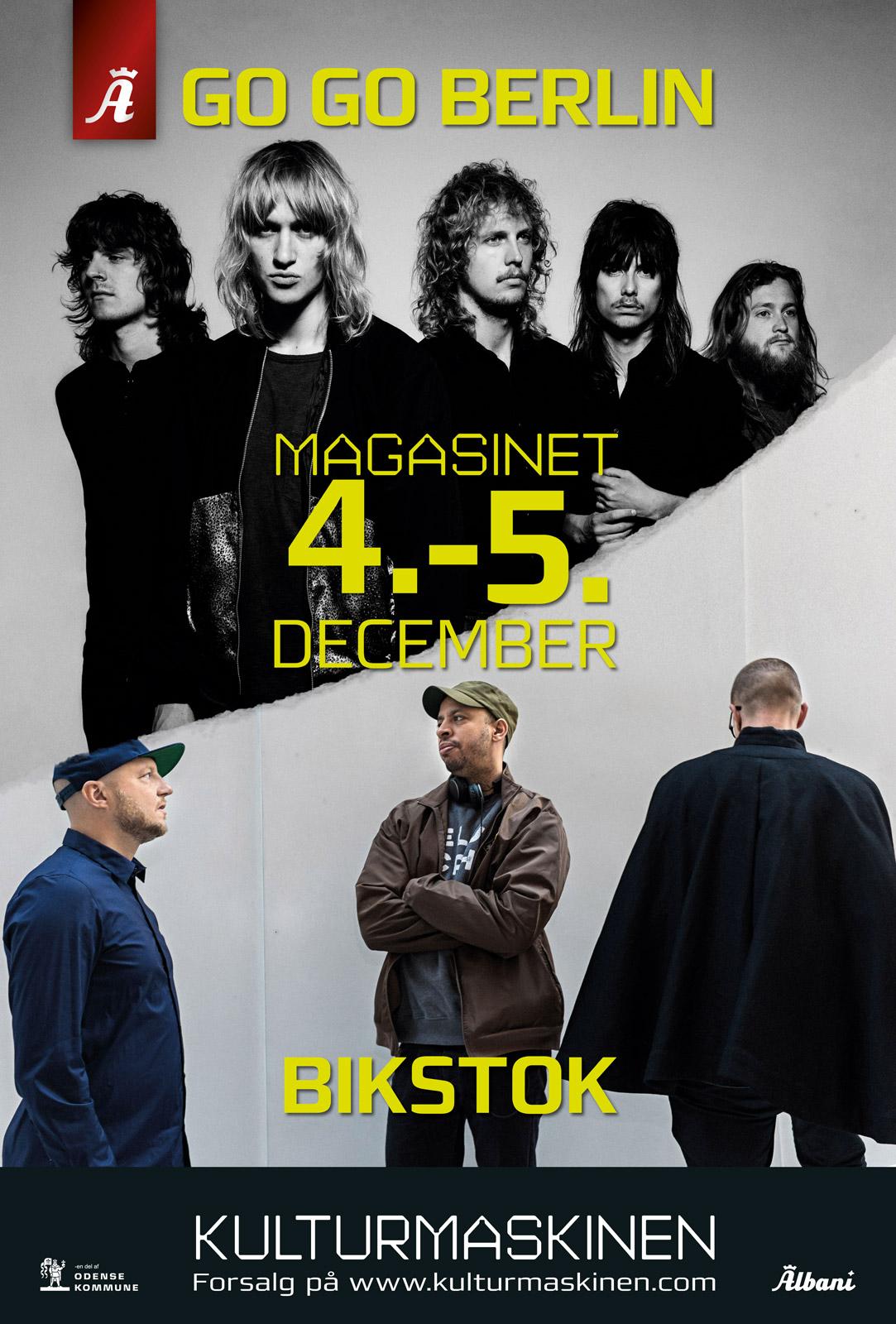 Go Go Berlin og Bikstok