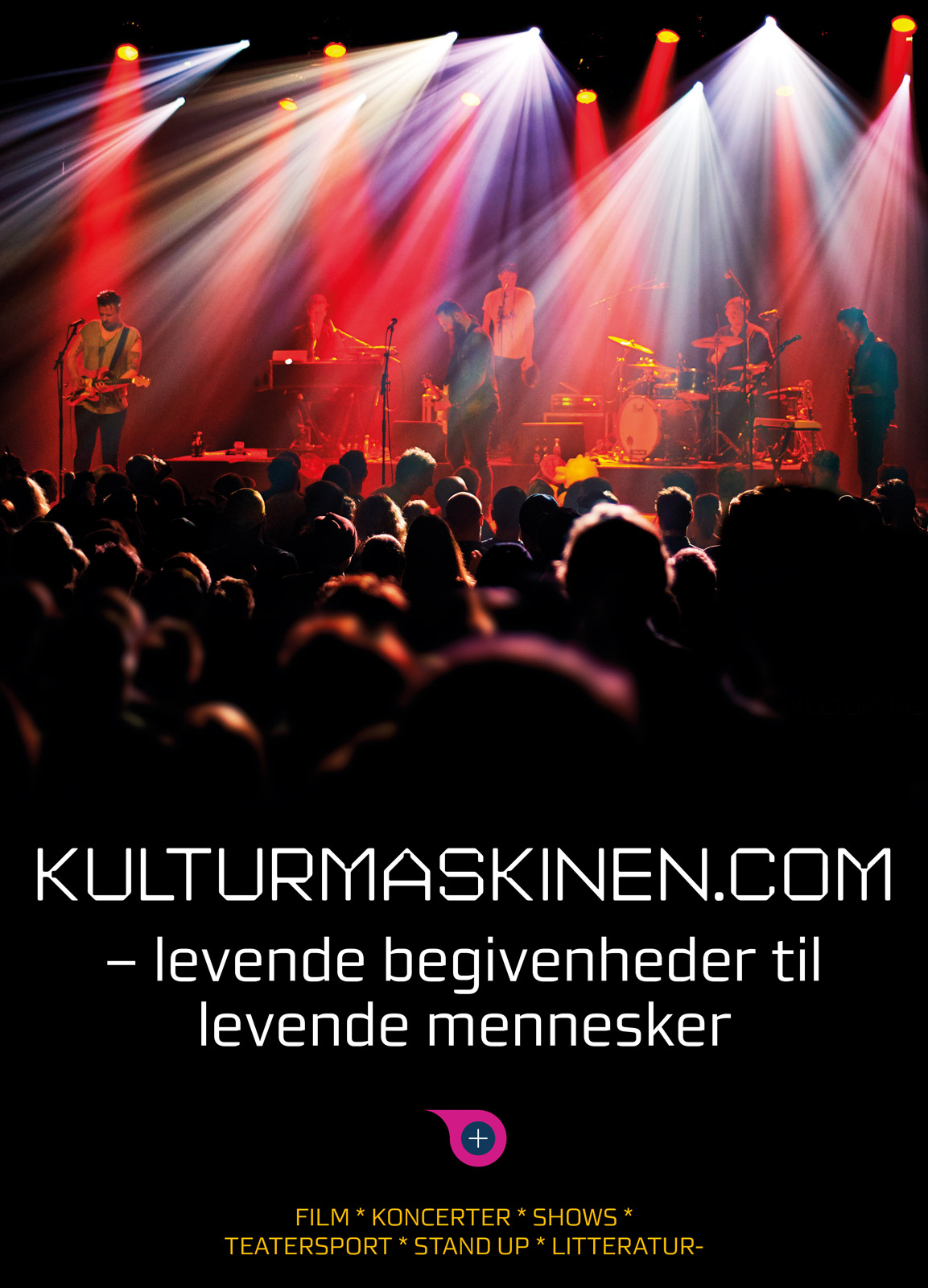 Kulturmaskinen plakat 2015