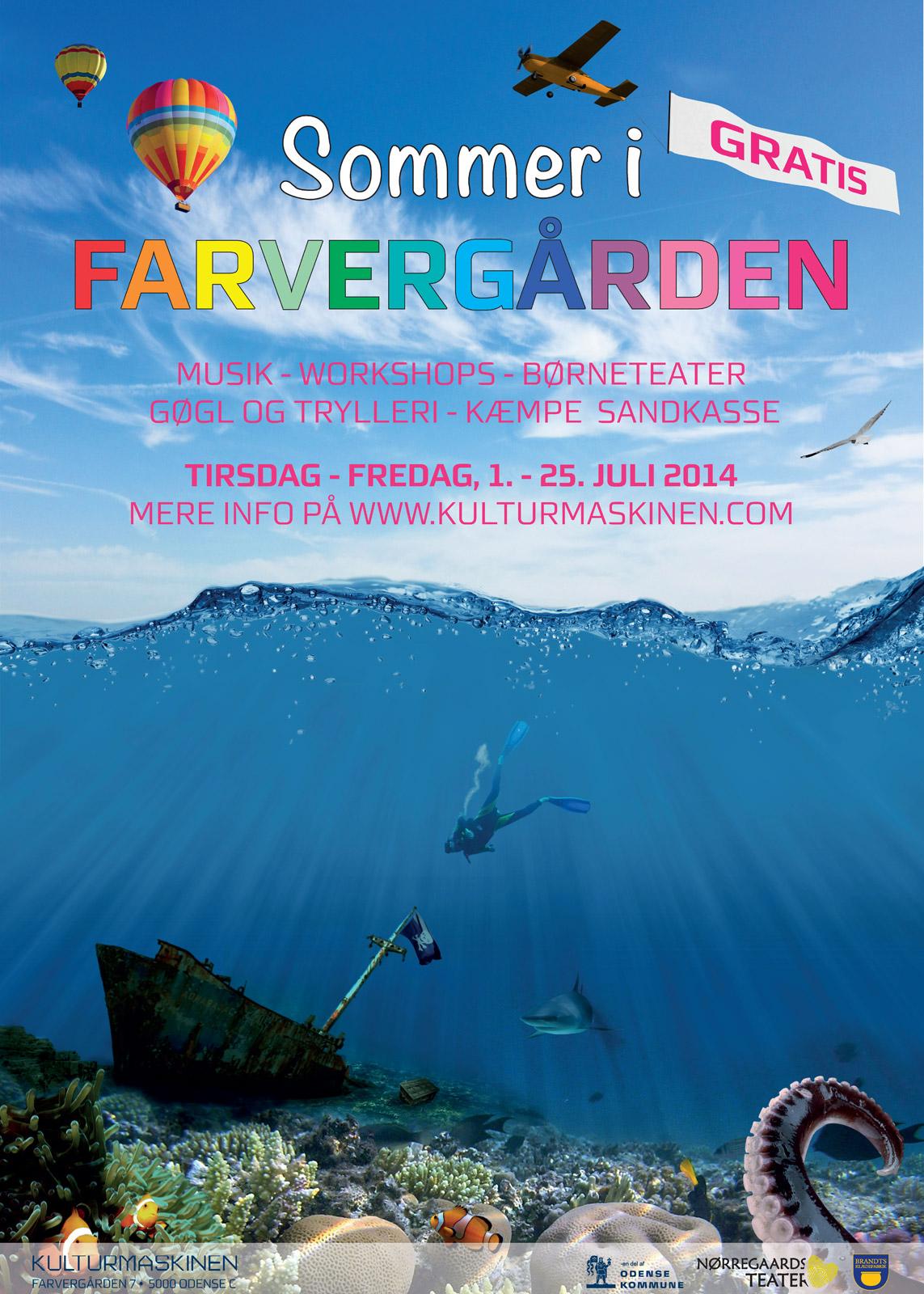 Sommer i Farvergården 2014